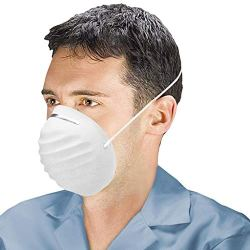 Air Pollution Protection, Disposable, Elastic Head Band, Breathable & Comfortable - 50 Masks Face Masks, Cone Style Mask, Air Pollution Protection, Disposable, Elastic Head Band, Breathable & Comfortable - 50 Masks
