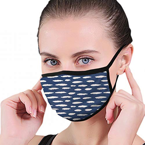 Mouth Mask,Tie Dye Polka Dot Japanese Beauty Fashion Mouth Covers, Sanitary Mask, Keep Warm In Cold, Protection From Dust, Germs, Allergies, Smoke, Pollution, Ash, Pollen For Men Women