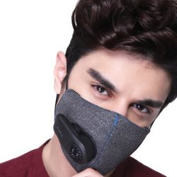 KN95 Anti-Pollution Air Mask with PM2.5 550mAh Batteries Rechargeable Filter