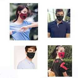 Dust Mask Anti PM2.5 Air Pollution Smoke Breathing Mask Coolcycling 3 Pcs Dust Mask Anti PM2.5 Air Pollution Smoke Breathing Mask with Replaceable Filters Safety Mask for Outdoor