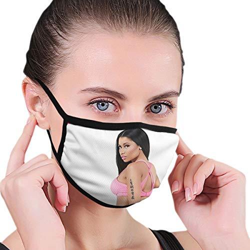 GuanRkon Nicki Minaj Soft Mask Winter Warm Windproof Mask Fashion Filter Air Pollution Mask New Face Mask for Man Women Black