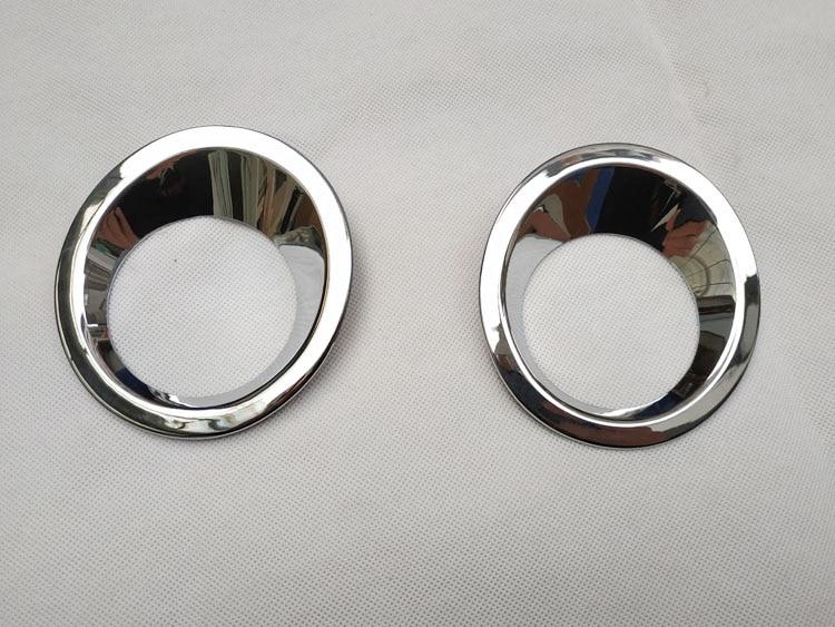 For Nissan qashqai j10 dualis 2013 2012 2011 2010 2008 2 1.6 chrome Rear Tail Fog Light cover rear fog lamp Trim accessories (3)