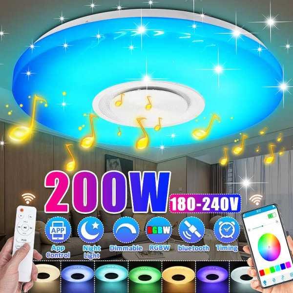 Modern LED Ceiling Lights APP Remote Control