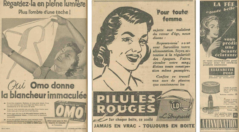 Limage De La Femme Travers La Publicit Dans Le Journal