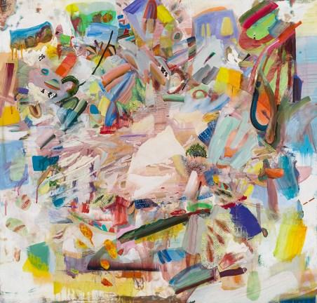 Suburban Mom, 2017 Oil paint on panel 40 × 42 in
