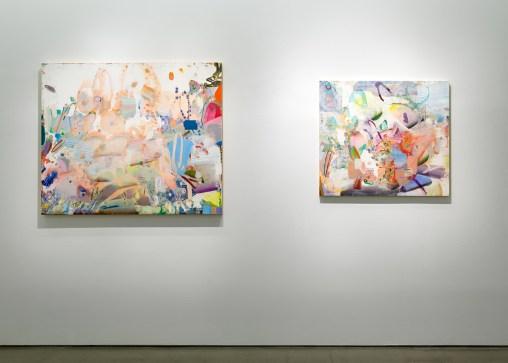 Carolyn Case's paintings at Asya Geisberg Gallery