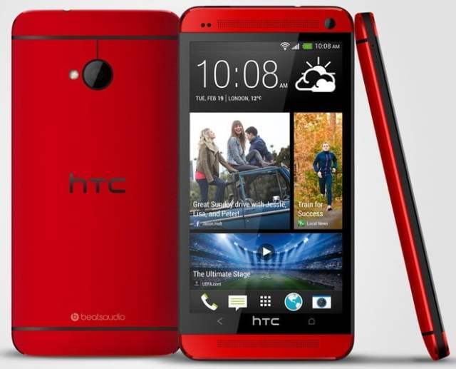 HTC_One_Red