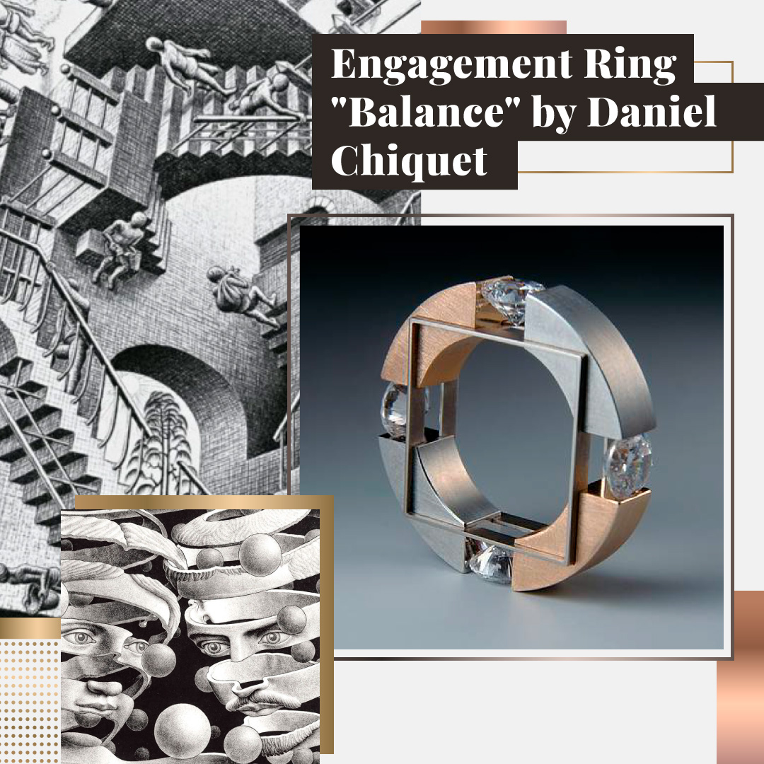 Engagement Ring by Daniel Chiquet