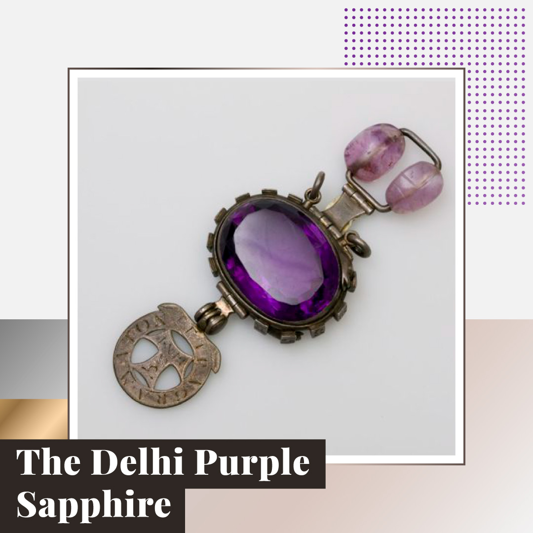 "The Delhi Purple Sapphire - ""Cursed"" Quartz"