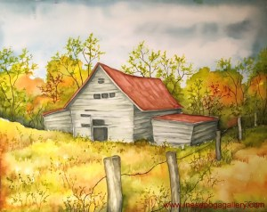 art instruction: sketching and watercolor