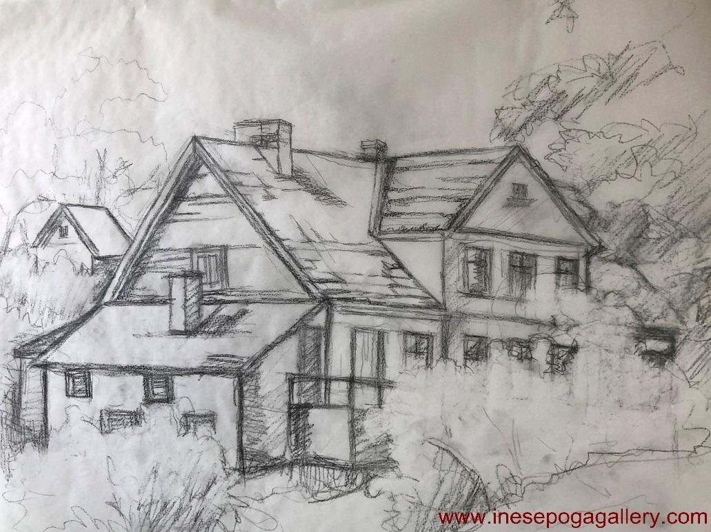 Line Art House : Adore house plan u zone