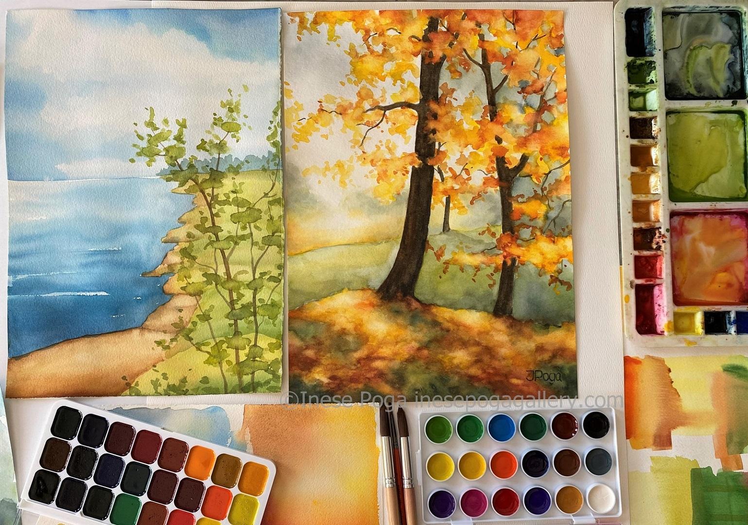 Enjoyable watercolor painting ideas