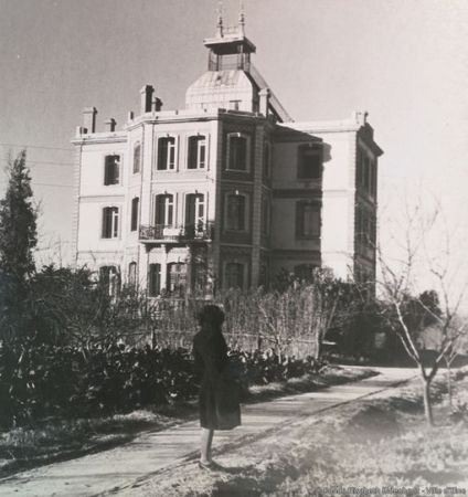 La maternité d'Elne pendant la deuxième guerre mondiale. © Mairie d'Elne. / Elisabeth Eidenbenz