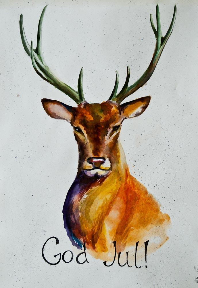 Deer Number One