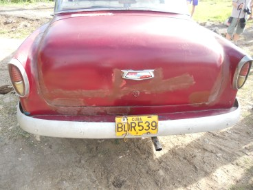 cuba car back