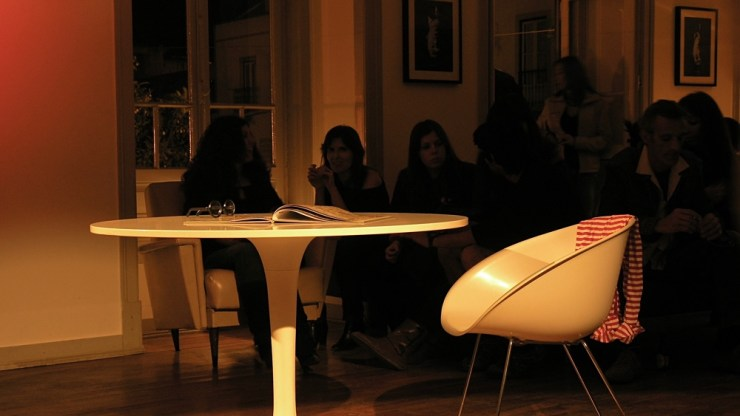 Table Set | performance de Rita Leite
