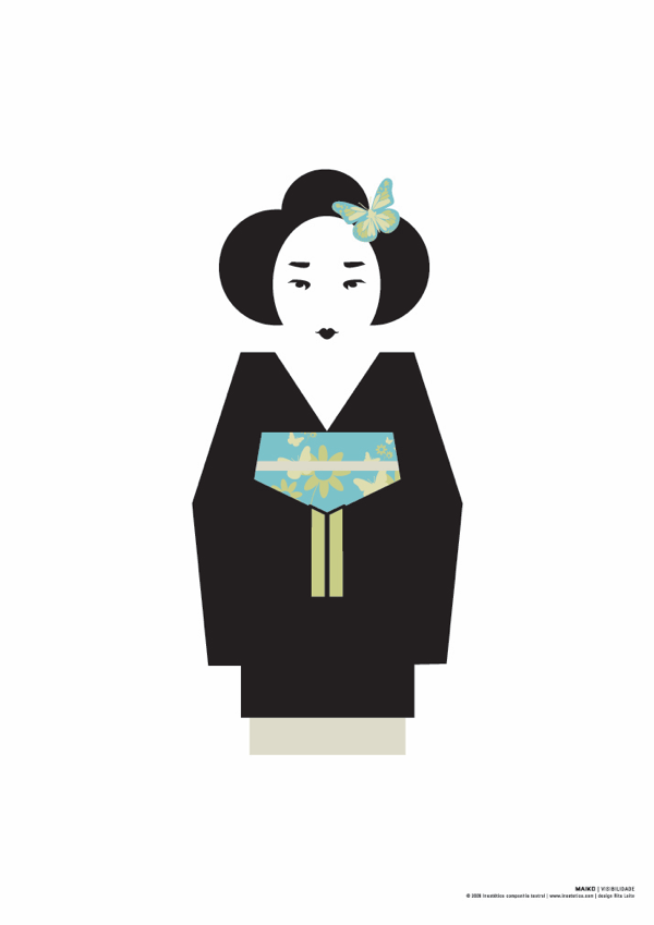 Maiko poster Visibilidade