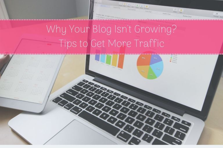 Why Your Blog Isn't Growing? Tips to Get More Traffic