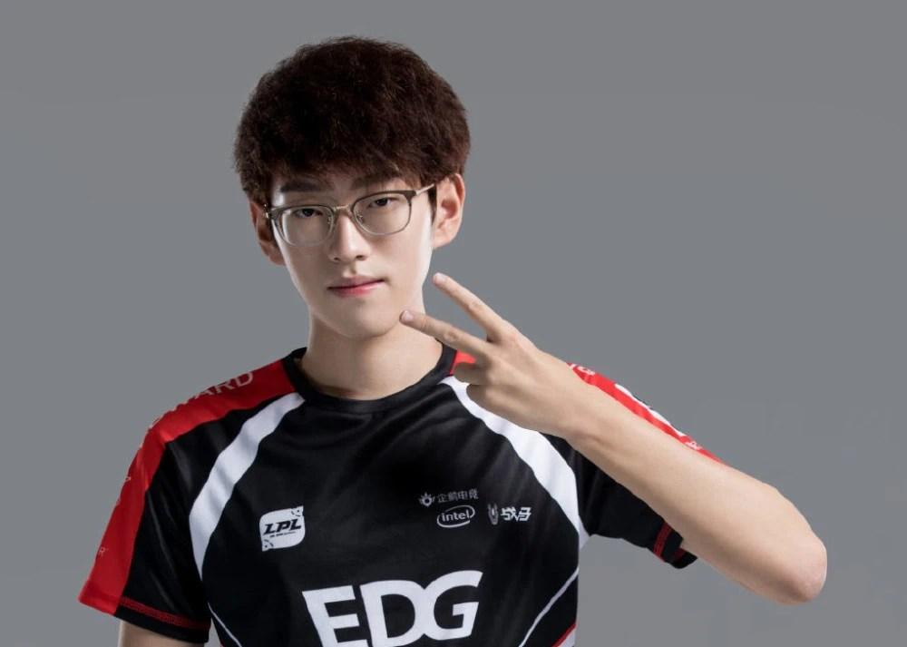 EDG輕取LNG, scout mode,全華班這個標簽就一直伴隨著LPL,原SKT(T1)電子競技俱樂部中單選手,韓國英雄聯盟職業選手,Scout中文熟練度不輸Doinb!