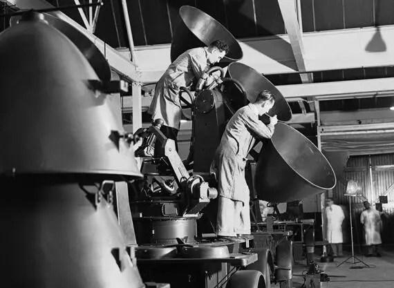 鏡頭下的1940年:德軍對英國的空炸