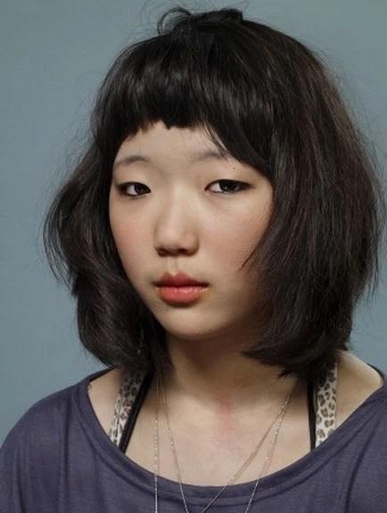 這才是韓國女人的真是樣子,只化妝沒整容,看起來實在是太丑了