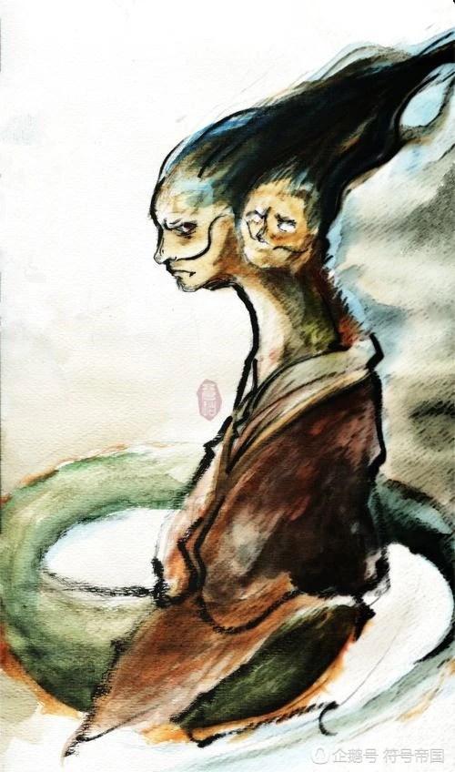 他是帝嚳和嫦娥的兒子,人獸蛇身的雙頭神獸,見到他的人即可稱霸