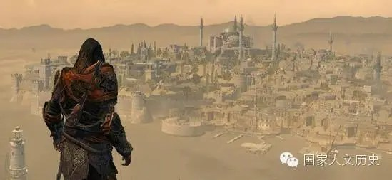 君臨城:君士坦丁堡在歐洲人心中的倒影?