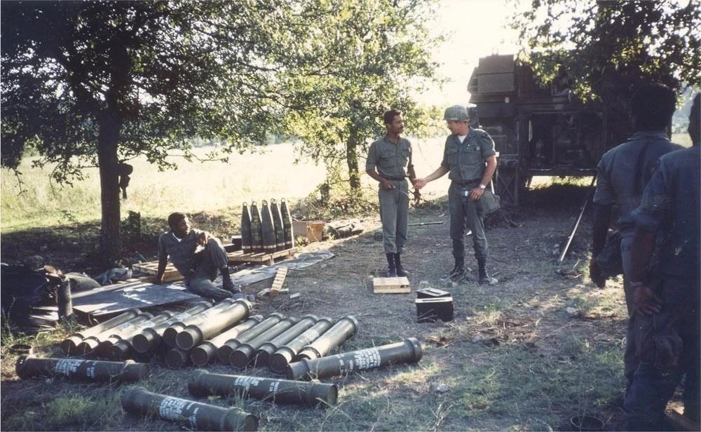 1976年,美國陸軍剛剛裝備M109自行榴彈炮