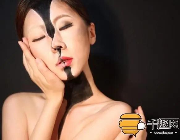 這些讓你瘋狂的錯覺僅僅是化妝就可以完成!