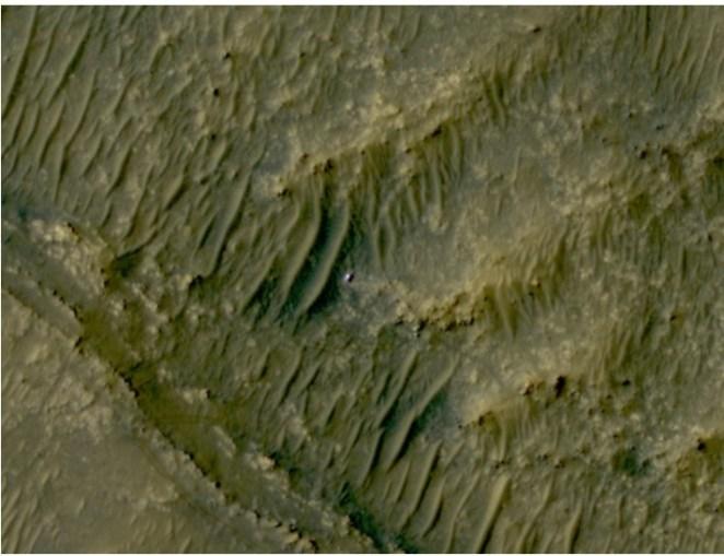 HiRISE Spots Perseverance in 'South Séítah'