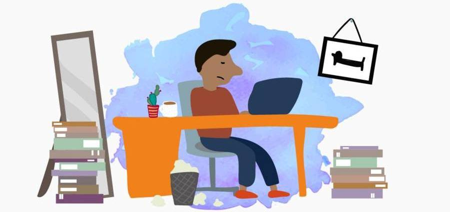 Коронавирус: Как да бъдете по-щастливи, докато работите от вкъщи