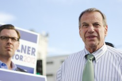 Mayor Filner at a campaign rally in November 2012  | Photo by Brad Racino
