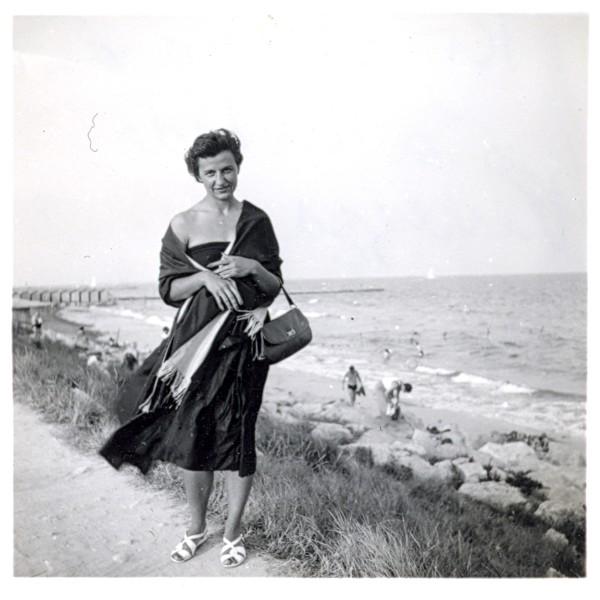 Krystyna Saling in Venice.