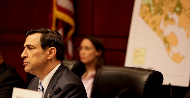 Issa busy sending letters critical of administration