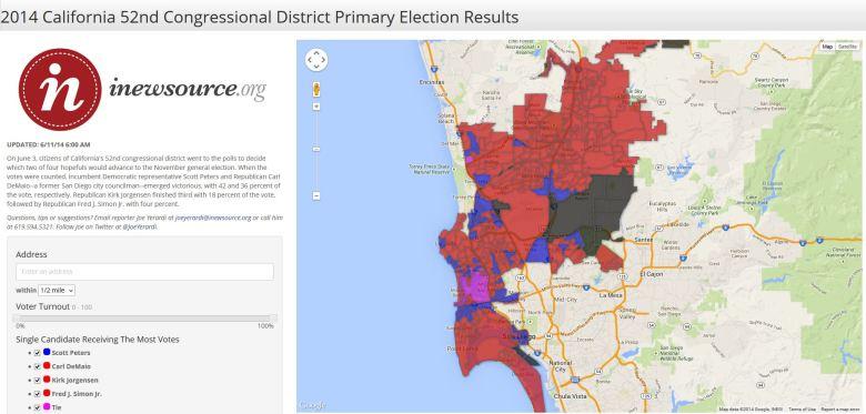 ca-52 primary voting map