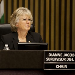 Supervisor Dianne Jacob