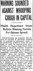 A story in the July 10, 1912 edition of the Washington Times. Credit: Library of Congress.