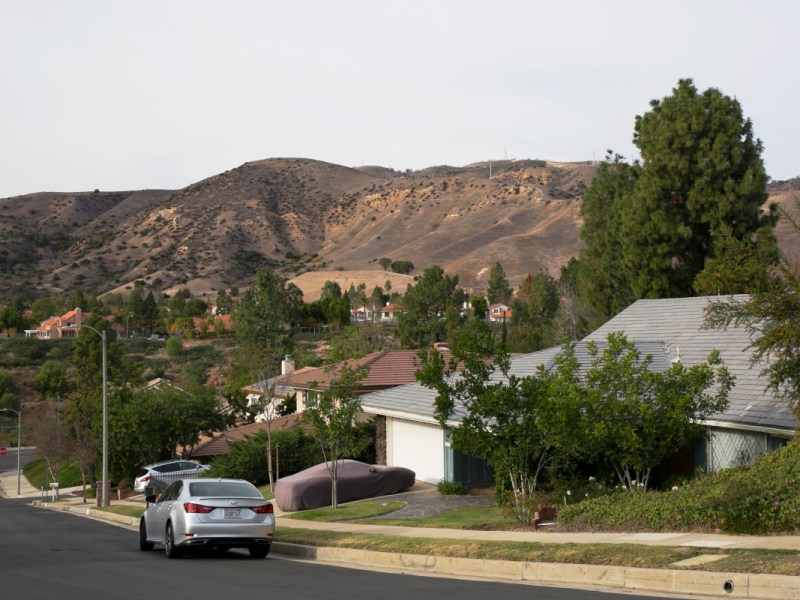 The community of Porter Ranch lies a mile south of the Aliso Canyon Gas Storage Field, where a massive methane release from an injection well is in its seventh week. 1,800 families have been relocated and1,433 more have requested relocation. Dec. 8, 2015 Megan Wood, inewsource