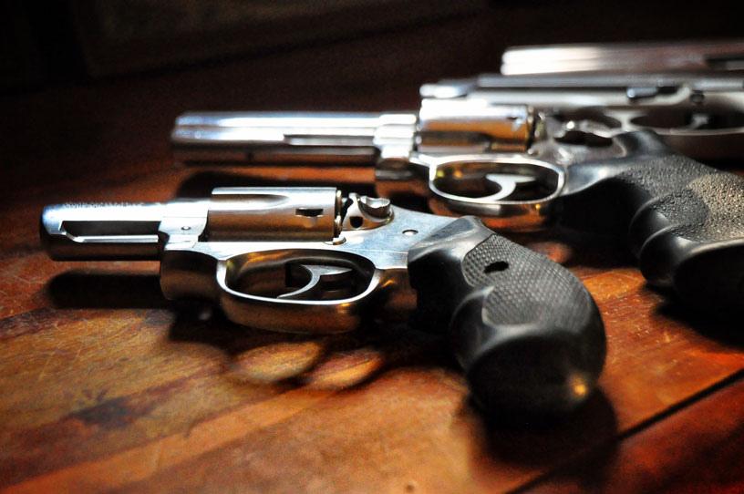 Guns. Photo courtesy of Flickr user Rod_Waddington.