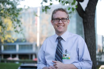 Dr. William Mitchell is a medical oncologist who directs the Doris Howell Service for Palliative Medicine at UC San Diego. Megan Wood, inewsource.