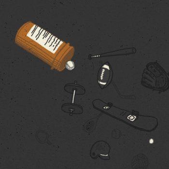 opioids sports