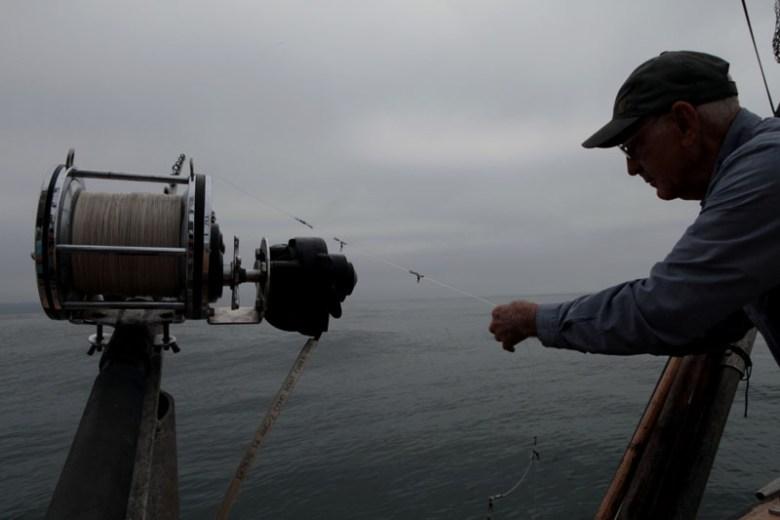 Phil Harris fishing