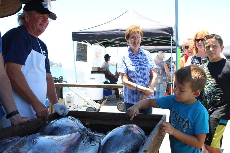 San Diego Tuna Harbor Dockside Market