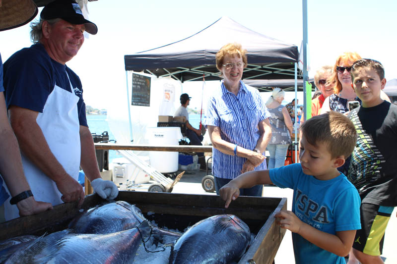 San Diego Tuna Harbor Dockside Market