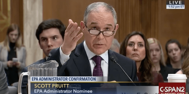 EPA pick shows little support for California pollution authority