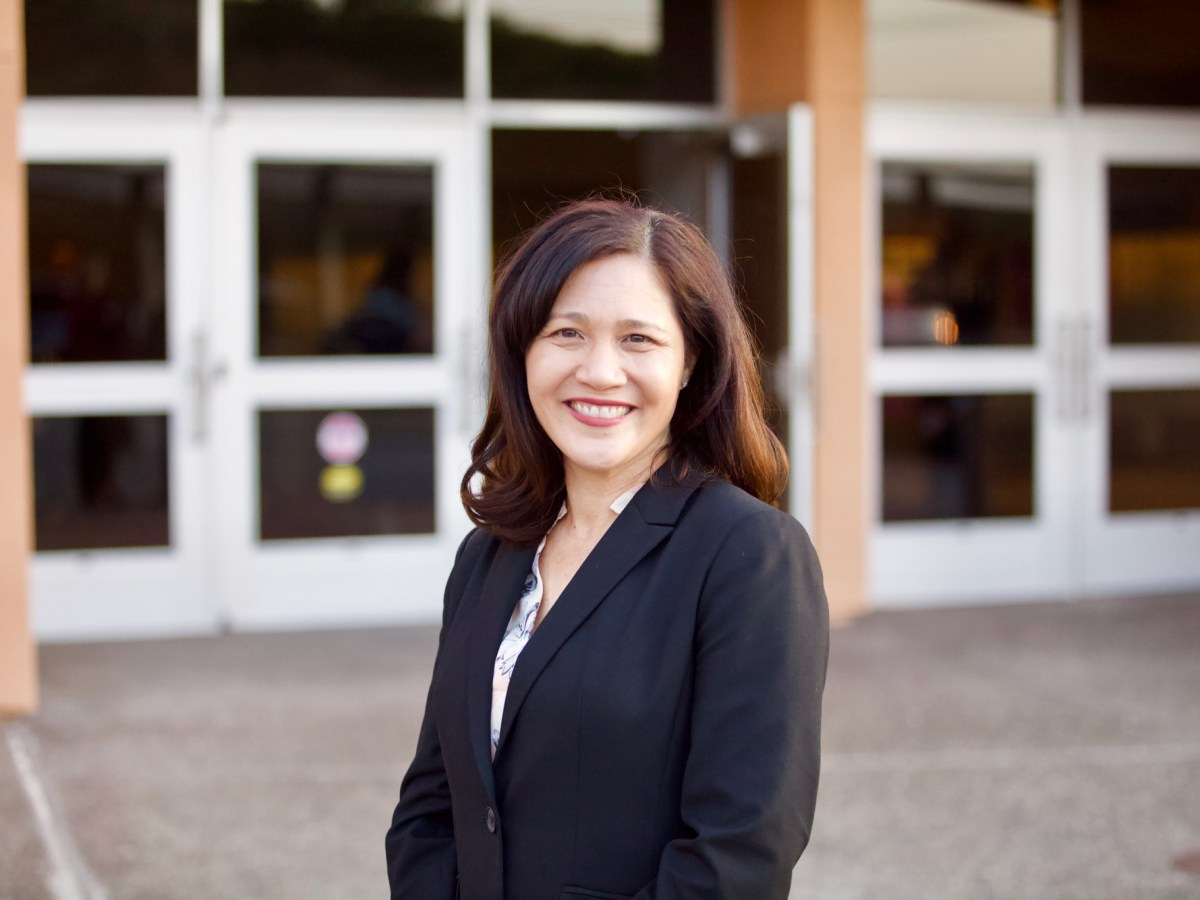 The San Ysidro School Board selected Gina Potter, a deputy superintendent in the Lemon Grove School District, as its new superintendent. (Leonardo Castañeda/inewsource)