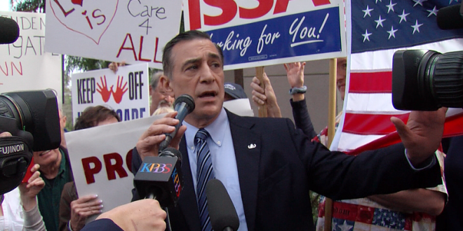 Issa refunds campaign donations now that he won't seek re-election