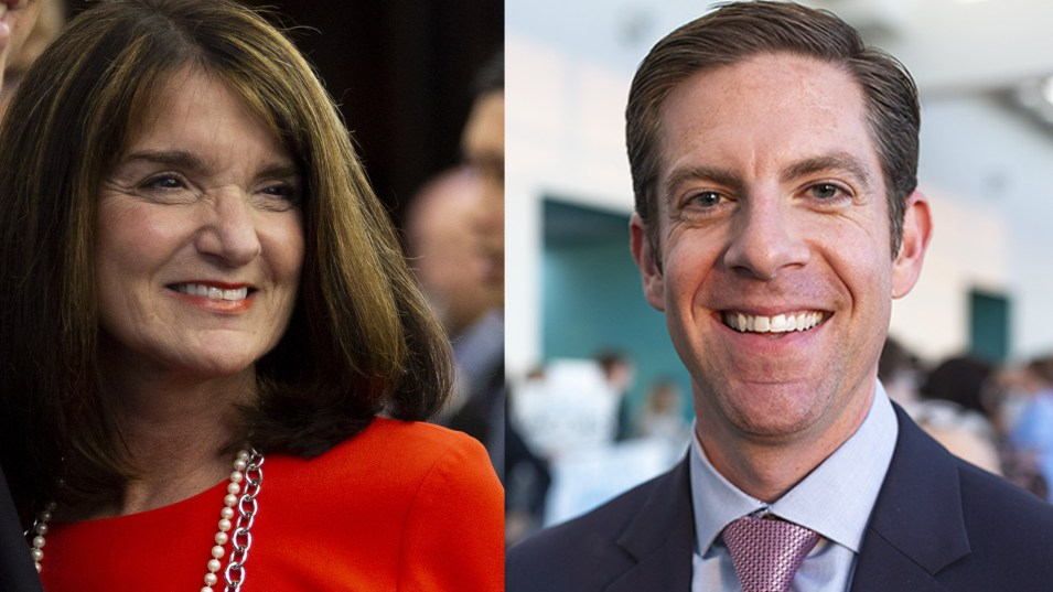 Diane Harkey and Mike Levin