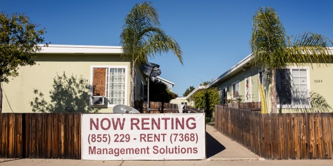It's tough to be a renter in San Diego County. More than half are burdened by housing costs.