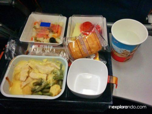 Comida de Aeroflot